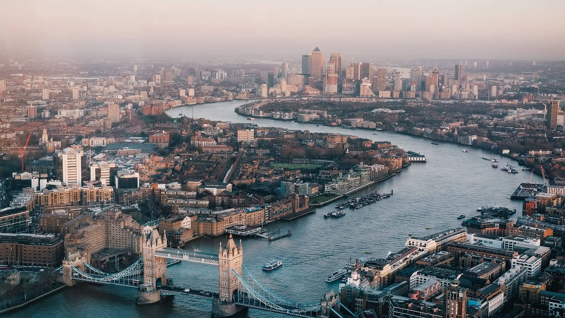 View over London
